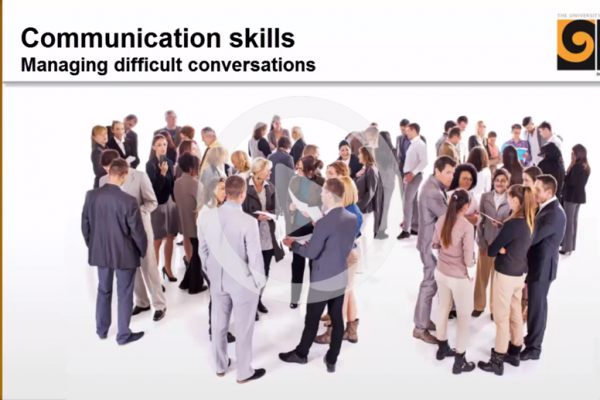 Managing difficult conversations cover image
