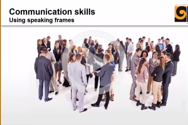 Using speaking frames cover image