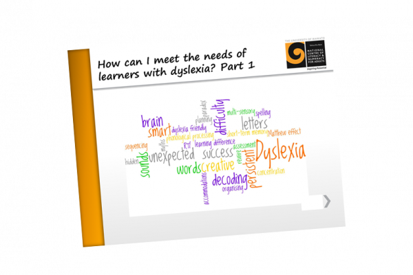 Dyslexia How can I meet the needs of learners with dyslexia part 1