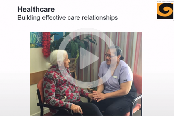 Building effective care relationships