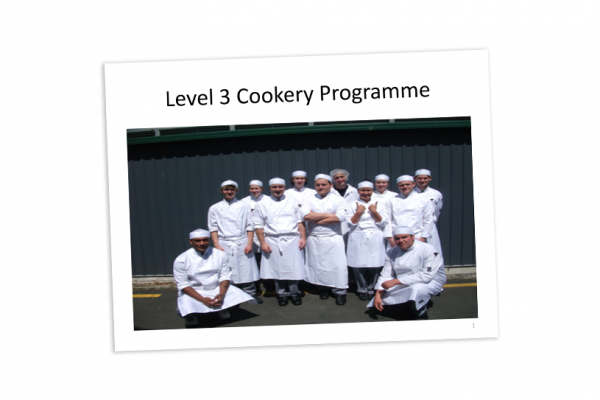 Level 3 Cookery Programme cover image