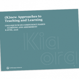 Knew Approaches to Learning and Assessment cover image