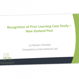 Recognition of prior learning case study NZ post cover image
