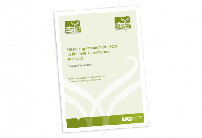 Designing research projects to improve learning and teaching cover