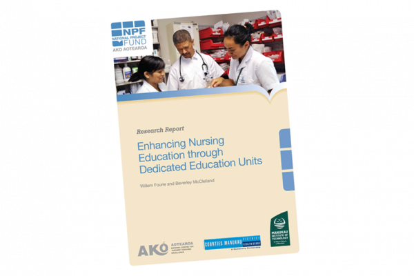 RESEARCH REPORT Enhancing Nursing Education Through Dedicated Education Units