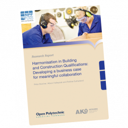 RESEARCH REPORT Harmonisation in Building and Construction Qualifications