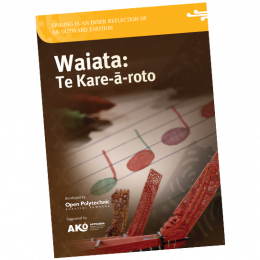 resource kit waiata booklet