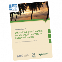 RESEARCH REPORT Educational Practices that Benefit Pacific Learners in Tertiary Education