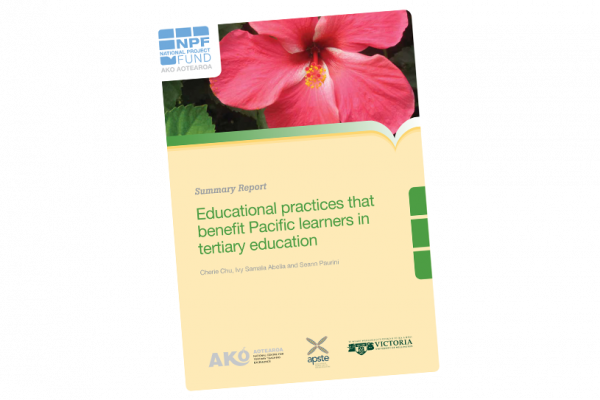 SUMMARY REPORT Educational Practices that Benefit Pacific Learners in Tertiary Education