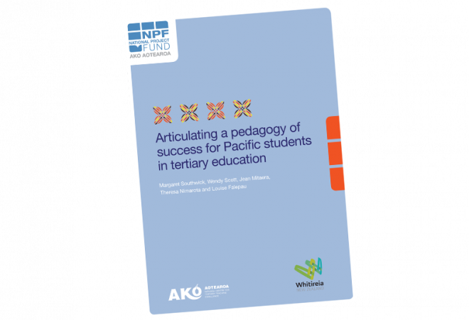 RESEARCH REPORT Articulating a Pedagogy of Success for Pacific Students in Tertiary Education