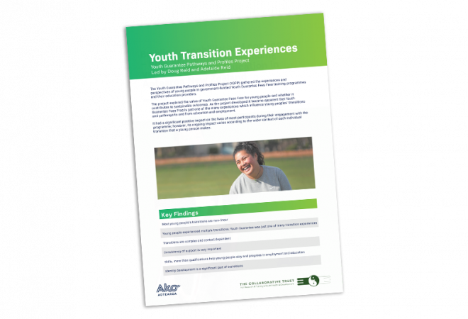 Youth transition experiences cover image
