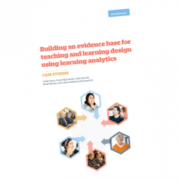 learner analytics case studies cover