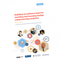 learner analytics report cover