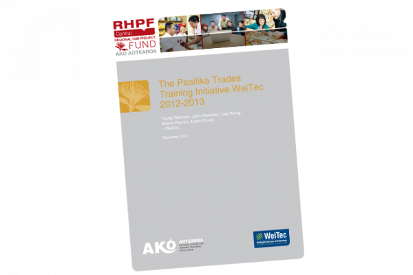 The Pasifika Trades Training Initiative WelTec - cover