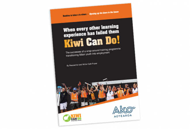 RESEARCH REPORT The Successes of a Wrap around Training Programme Transitioning Maori Youth into Employment