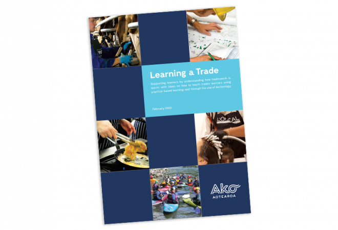Learning a trade cover image