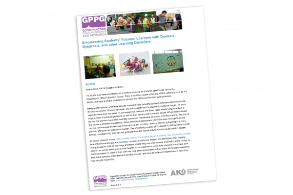 RESEARCH REPORT Empowering Students Futures Learners with Dyslexia Dyspraxia and other Learning Disorders