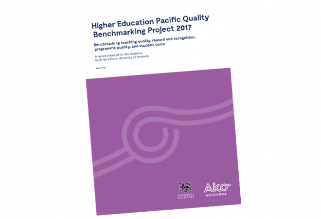REPORT Higher Education Pacific Quality Benchmarki